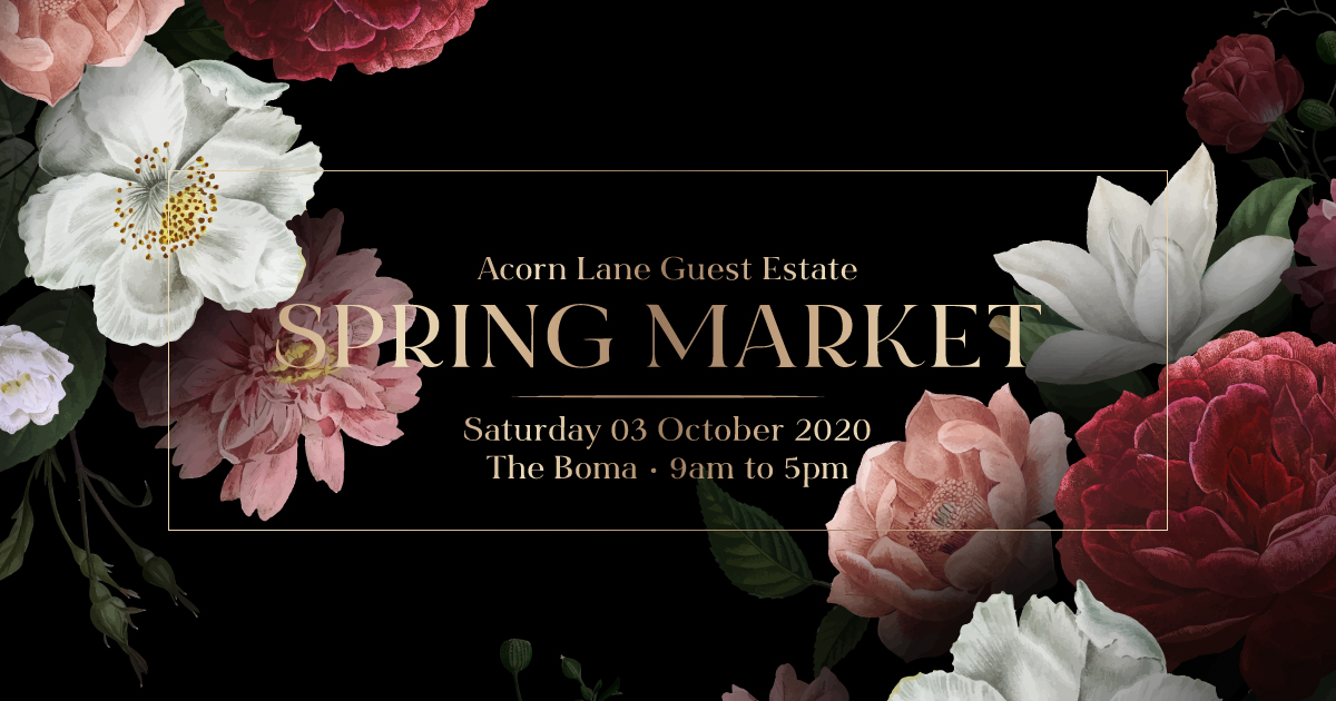 Spring Market At The Boma, Acorn Lane Guest Estate
