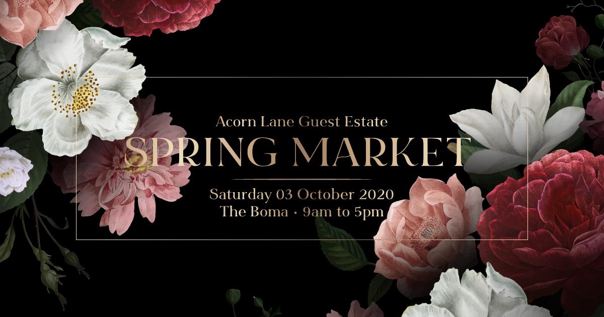 Spring Market At The Boma, Acorn Lane Guest Estate